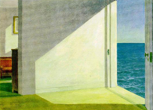 Edward Hopper: Room by the sea